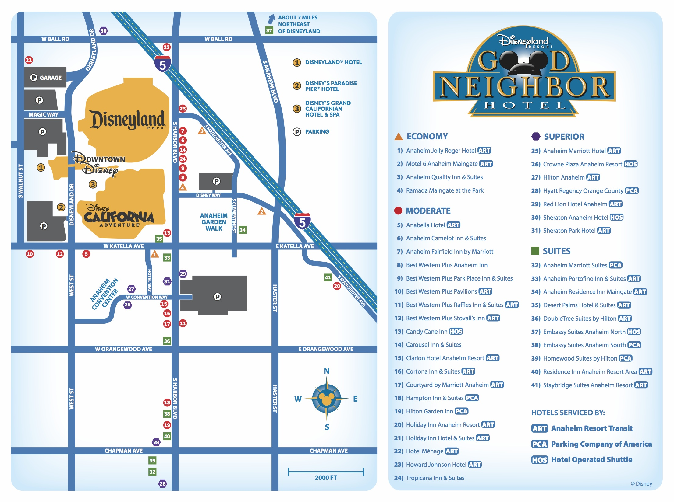 Disneyland Good Neighbor Hotels - Suites - Disney World