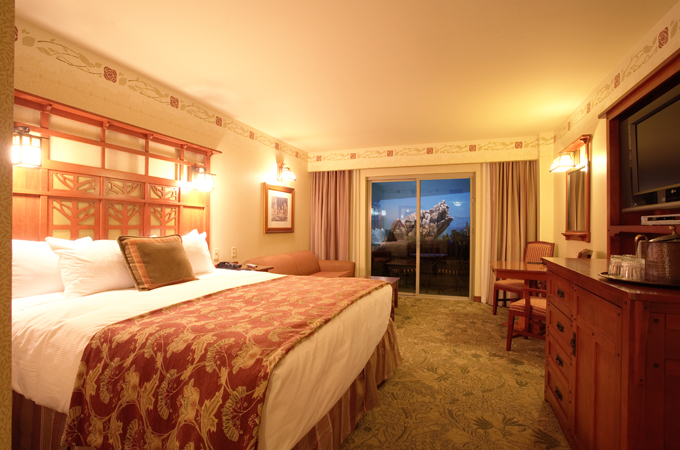 Hotel Rooms Inside Disneyland Park