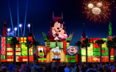 "All-New Holiday Nighttime Spectacular ""Jingle Bell, Jingle BAM!"" Coming to Disney's Hollywood Studios November 14th!"