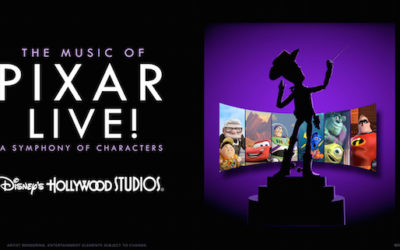 RESERVATIONS NOW OPEN FOR 'THE MUSIC OF PIXAR LIVE!' DINING PACKAGE AT DISNEY'S HOLLYWOOD STUDIOS