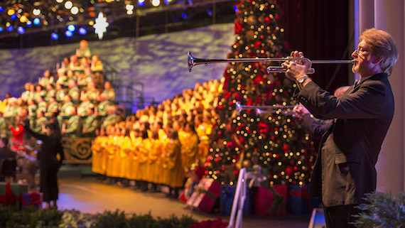 Candlelight Narrators for the 2017 Candlelight Processional at Epcot at the Walt Disney World Resort