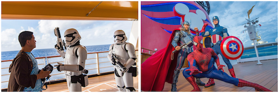 Star Wars Day at Sea and Marvel Day at Sea Return to Disney Cruise Line in 2019