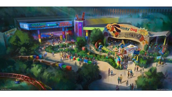 New Pixar Experiences coming to both Disney Parks
